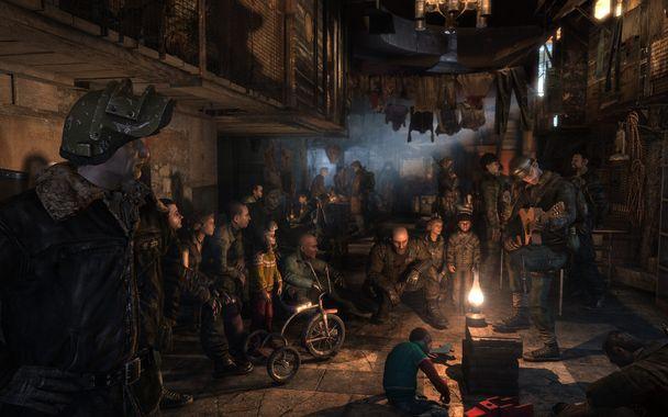 """Image tirée du jeu """"Métro 2033"""""""